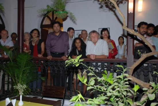 Cafe Alfresco Opening at Sunaparanta on 31st Oct 2009
