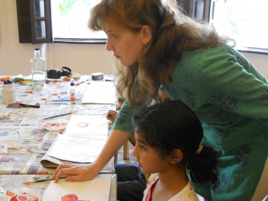 Nature Scrapbook for kids with Leslie Lakhia - 31st May to 2nd June 2012