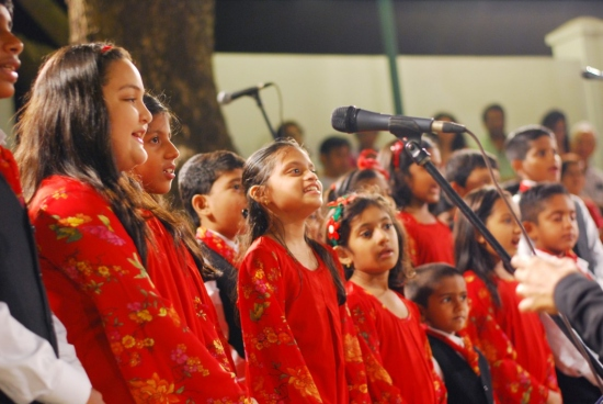 A Night of Carols with The Natal Singers led by Nayantara L. Leitao - 16 December 2013