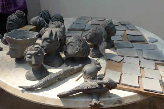 Ceramic Handbuilding and Scrafitto workshop with Helen Kemp - 22 & 23 Feb 2014