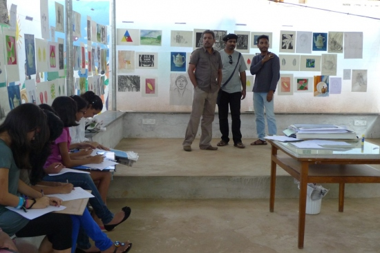 Pencil to Portfolio - Open Day (last day of class - 22 February 2014)