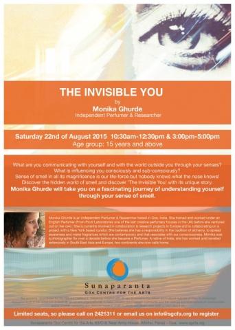 Sunaparanta goa centre for the arts the invisible you by monika ghurde on 22nd august 15 at sunaparanta solutioingenieria Gallery